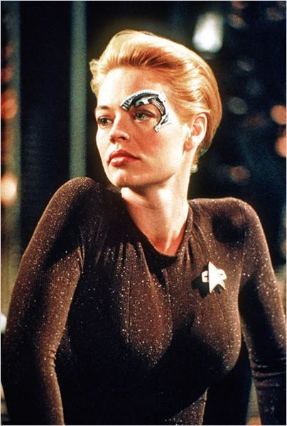 Star Trek: Voyager. Seven of Nine - The ratings soared with the addition of Jeri Ryan.
