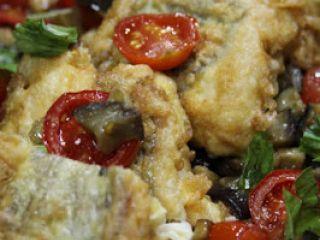La Parmigiana di Pesce Bandiera di Gennaro Esposito