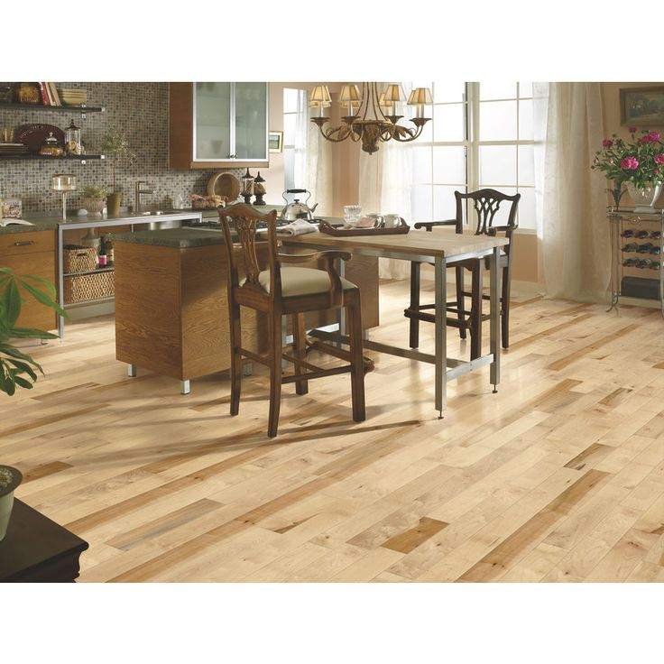 Shop Bruce America S Best Choice 4 In W Prefinished Maple Hardwood Flooring Country Natural At Low Maple Hardwood Floors Solid Hardwood Floors Maple Hardwood