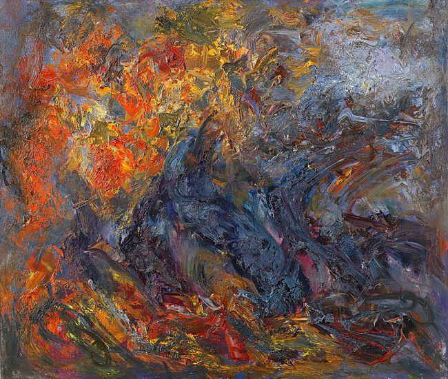Sergey Fedotov:  Осень  2008  х м  120х140