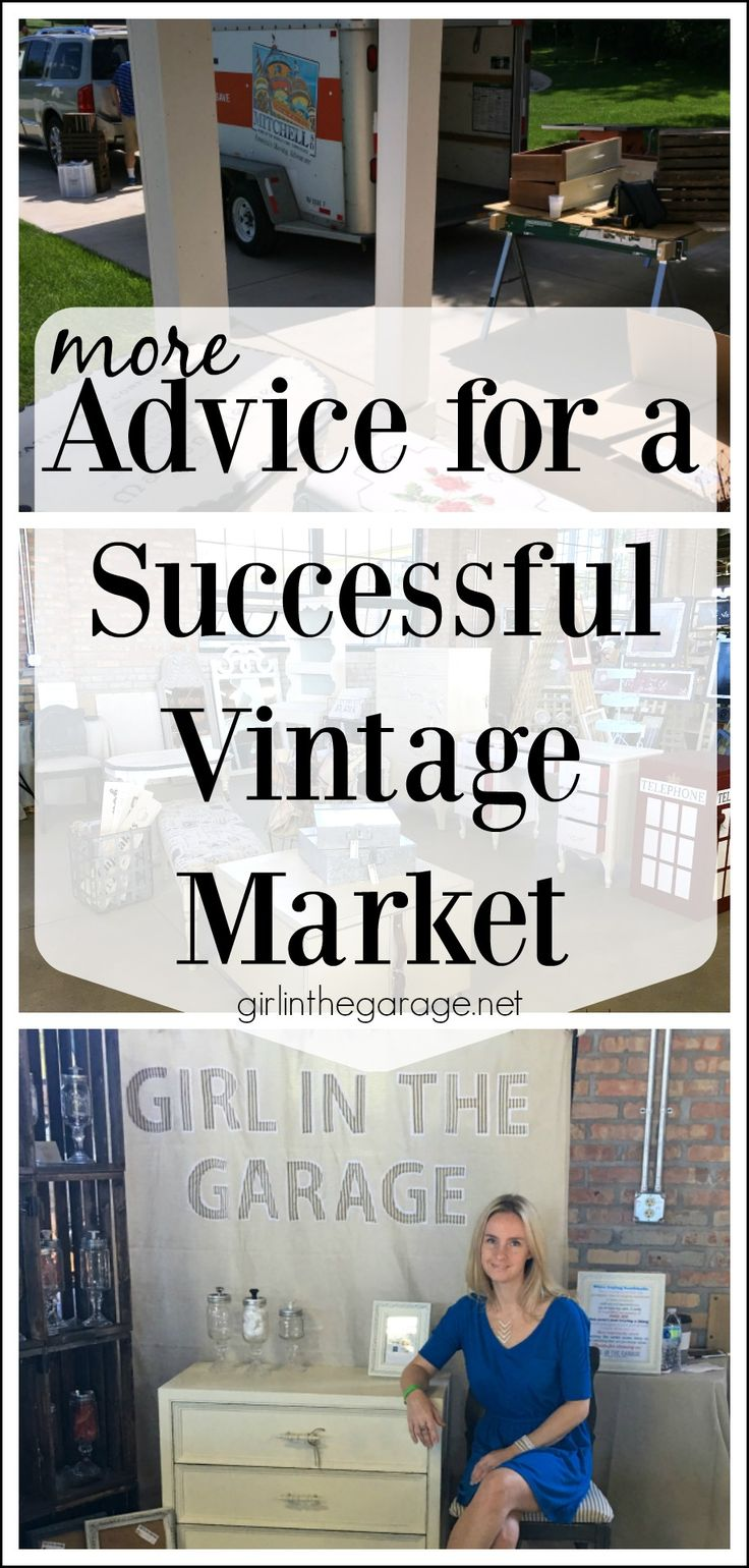 More advice for a successful vintage market - Girl in the Garage