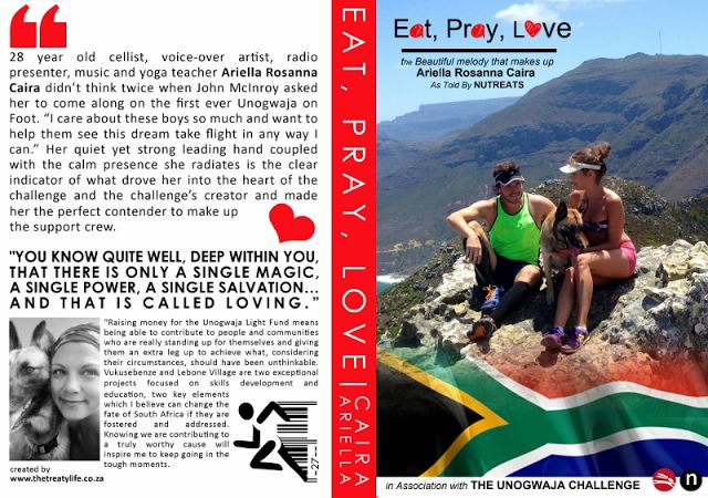 """You know quite well, deep within you, that there is only a single magic, a single power, a single salvation...and that is called loving..."""" #Quote  Unogwaja 2015: The Beautiful Melody that Makes up Ariella Rosanna Caira who's been standing behind Unogowaja on Foot for 29 days"""