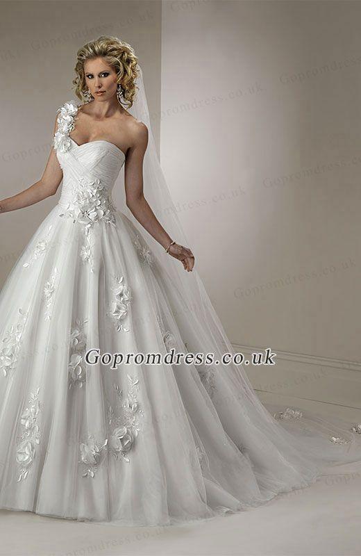 explore shoulder wedding dress