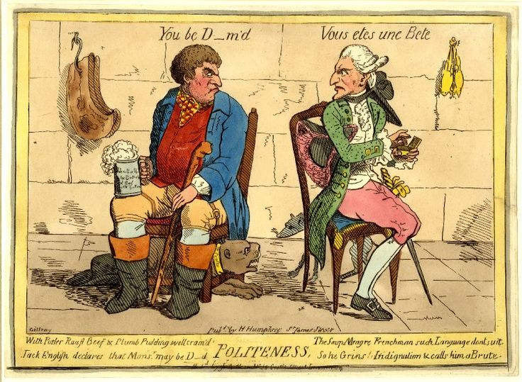 Fig. 5: James Gillray, Politeness, 1779, hand-coloured ...