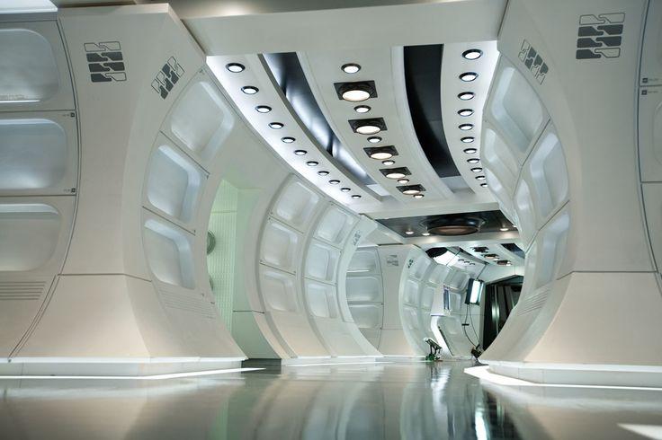 Resultado de imagen para nave espacial interior