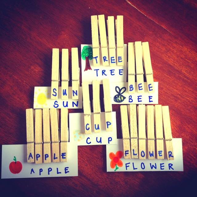 Wooden pegs and card make great letter games for kids! (:Classroom Design, For Kids, Kids Stuff, Kids Activities, Preschool Ideas, Fun Games, Blog, Letters Games, Clothespins Letters Gam