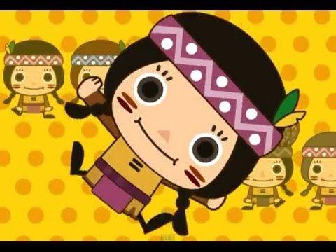 Canción en inglés Ten Little Indians