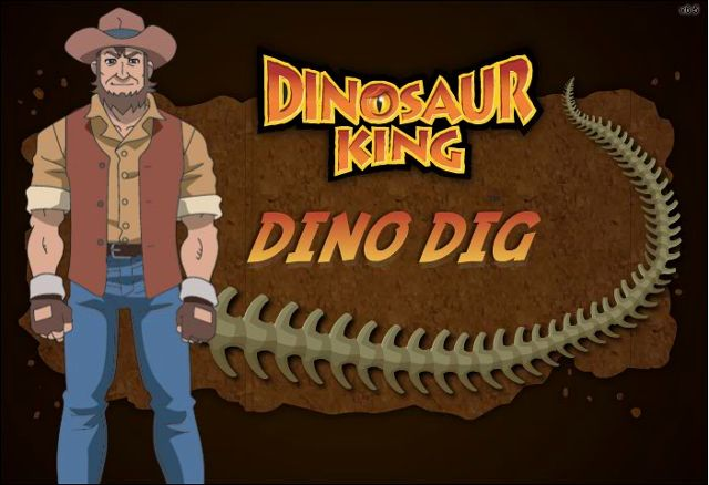 Dinosaur Dig Game | Image - Dino Dig.png - Dinosaur King
