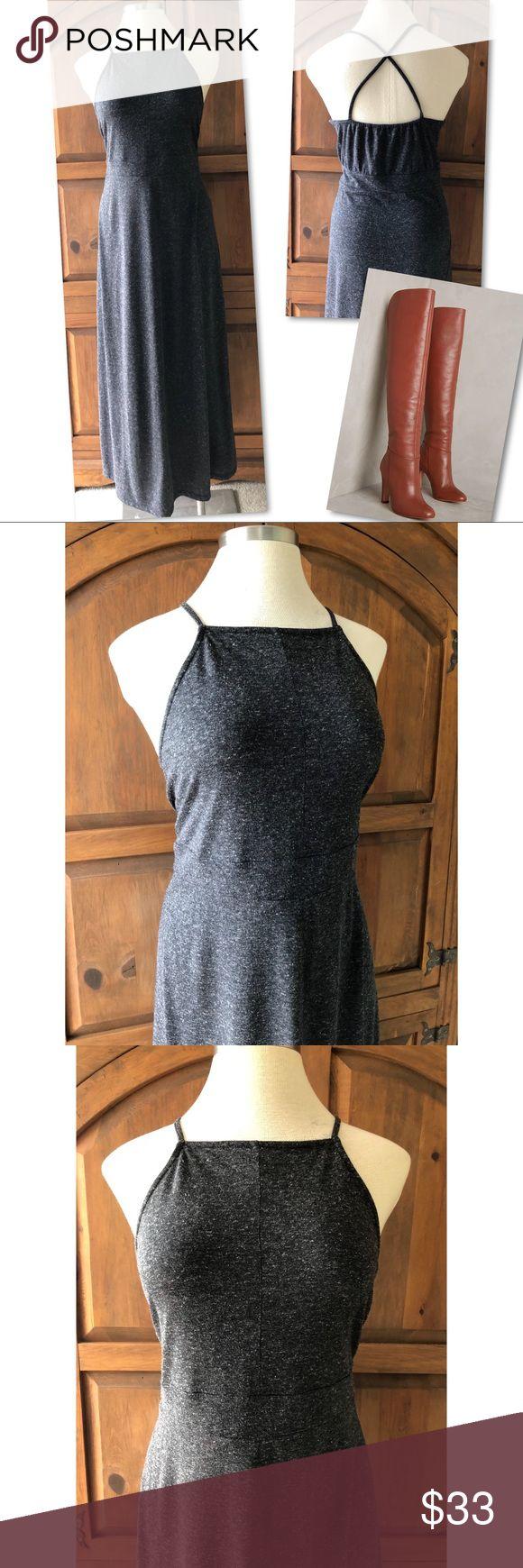 ANN TAYLOR LOFT BEACH GREY MAXI DRESS SZ XL ANN TAYLOR LOFT BEACH GREY MAXI DRESS SZ XL LOFT Dresses Maxi