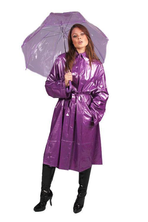 KEMO Cyberfashion Onlineshop für Mode und Regenkleidung aus PVC-PVC Regenmantel