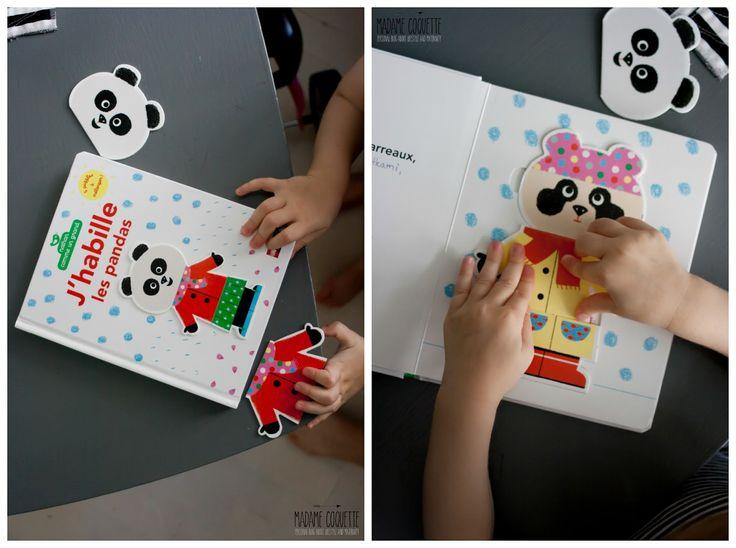 Madame Coquette: do knihovničky / J'habille les pandas