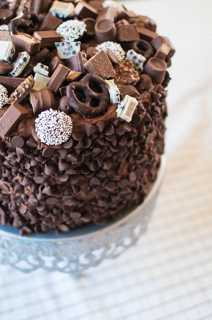 Chocolate Overload Layer Cake recipe