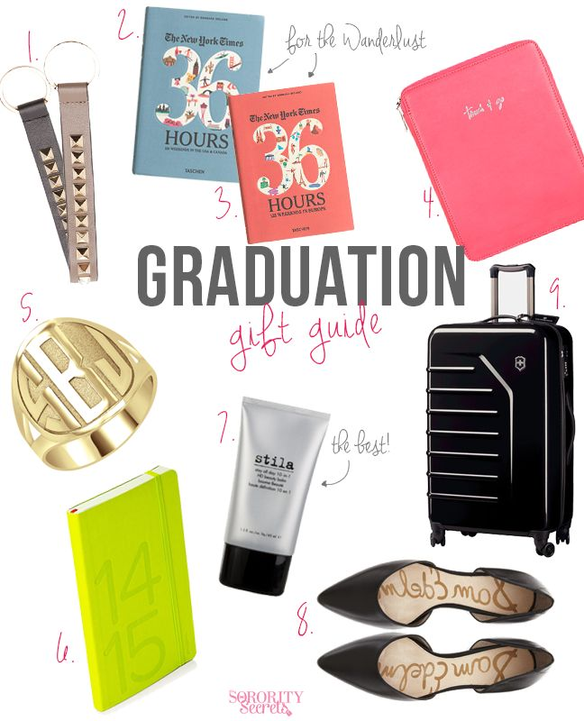 The Sorority Secrets: Graduation Gift Guide of 2014