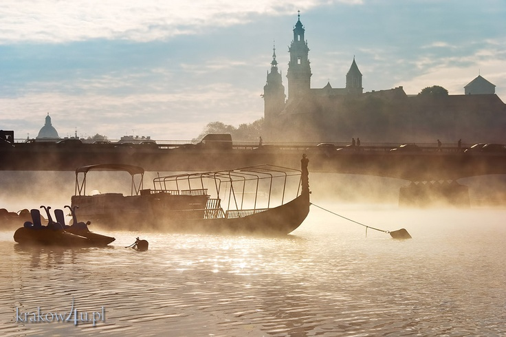 Vistula River, Cracow, Poland