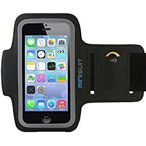 Amazon.com: Minisuit SPORTY Armband + Key Holder for iPhone 5/5S/5C/SE, iPod Touch 6, 5: Cell Phones & Accessories