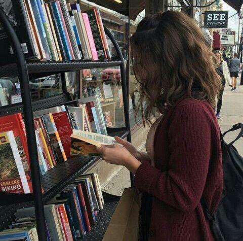 Image de girl, books, and tumblr