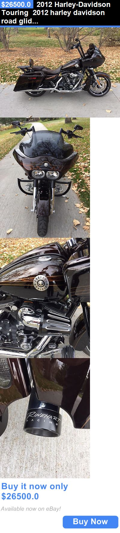 Motorcycles: 2012 Harley-Davidson Touring 2012 Harley Davidson Road Glide Cvo BUY IT NOW ONLY: $26500.0
