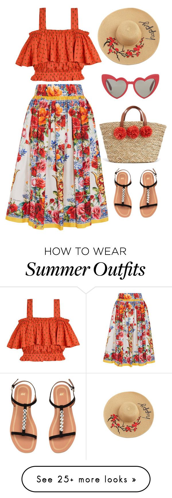 """Summer bag outfit only"" by foxxyslang on Polyvore featuring Samantha Pleet, Dolce&Gabbana and Yves Saint Laurent"