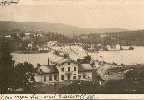 Eidsvoll stasjon postgått 1924