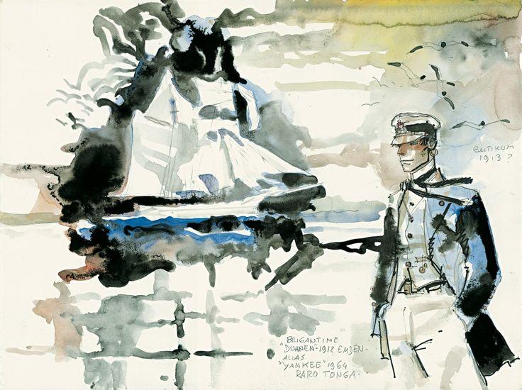 Corto Maltese by Hugo Pratt
