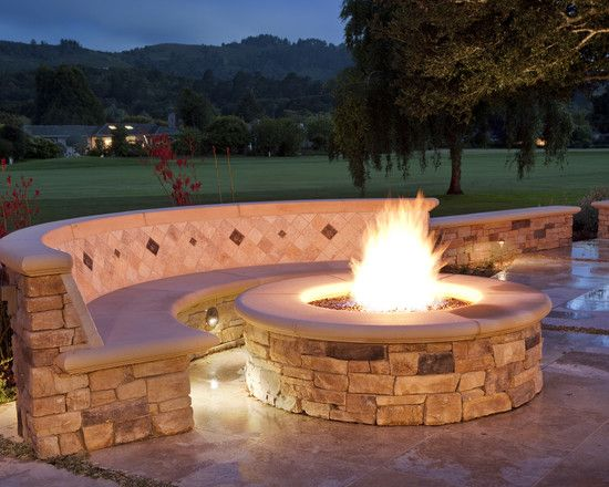 223 best fire pit images on pinterest | patio ideas, backyard ... - Patio Ideas With Fire Pit