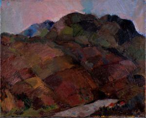 """Mirage""  50×40 cm oil painting on canavas"