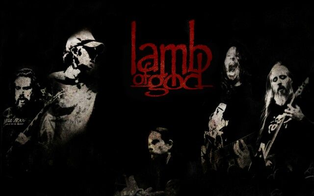 Lamb of God. Badass Metal band.