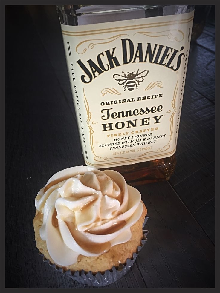 Jack Daniels Tennessee Honey Cupcakes recipe from creative-culinary. They are amazing!