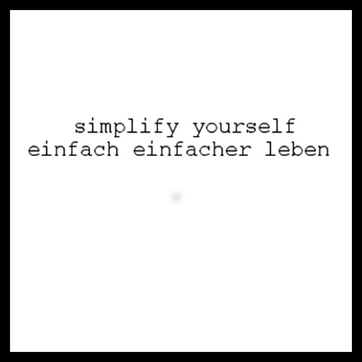 simplify yourself