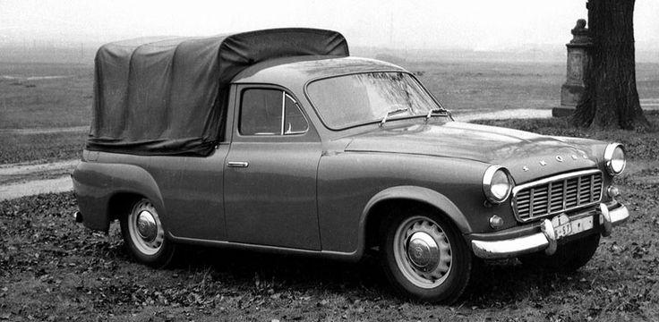 vintage skoda pickup - Google Search