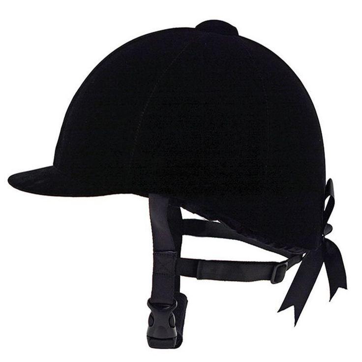 Equestrian Horse Riding Helmet Breathable Durable Safety Half Cover Horse Rider Helmets For Men Women Children 53-64 CM