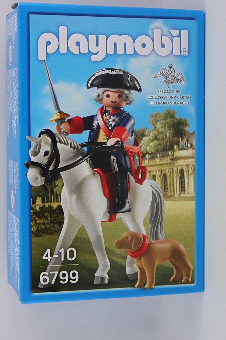 Playmobil - 6799 - Friedrich der Große mit Pferd und Hund, Sonderauflage: Amazon.de: Spielzeug