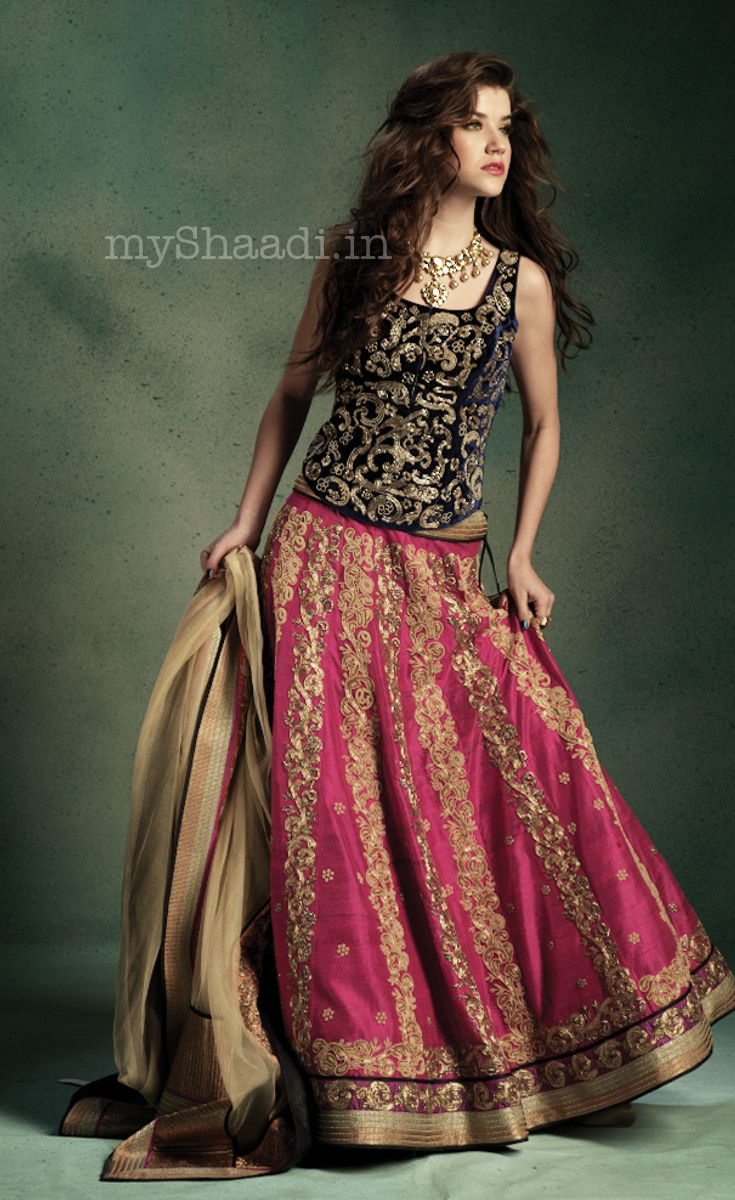 JADE by Monica  Karishma | Myshaadi.in#bridal wear#india#bridal lehengas#designer bridal outfits#indian wedding