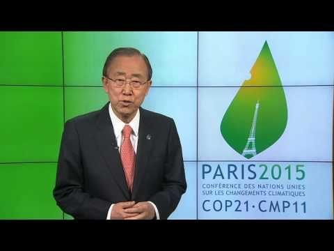 Conférence sur le changement climatique Paris 2015