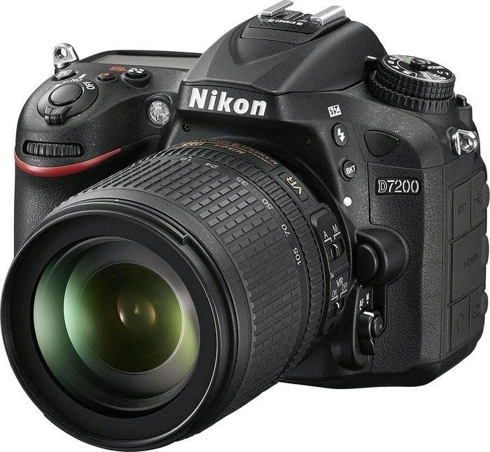 Nikon D7200 + 18-105 mm ED VR - Fotocamera Reflex