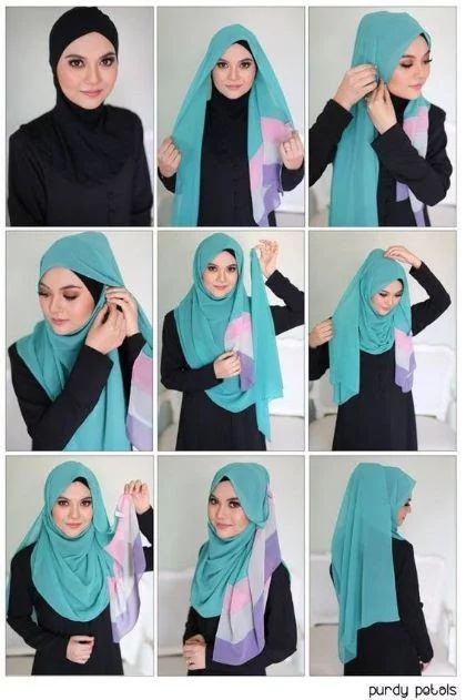 hijab styles step by step,abaya designs,abaya fashion,hijab style 2017,how to wear a hijab in different styles,hijab styles step by step with pictures