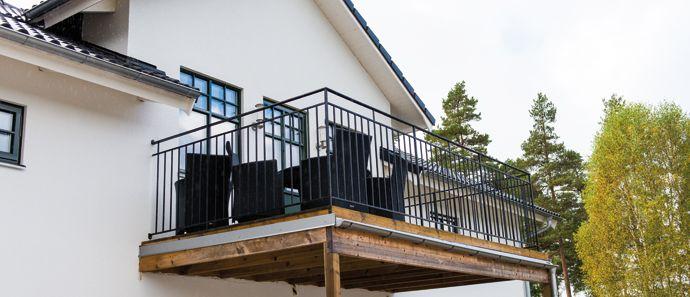 putsat hus balkong - Sök på Google