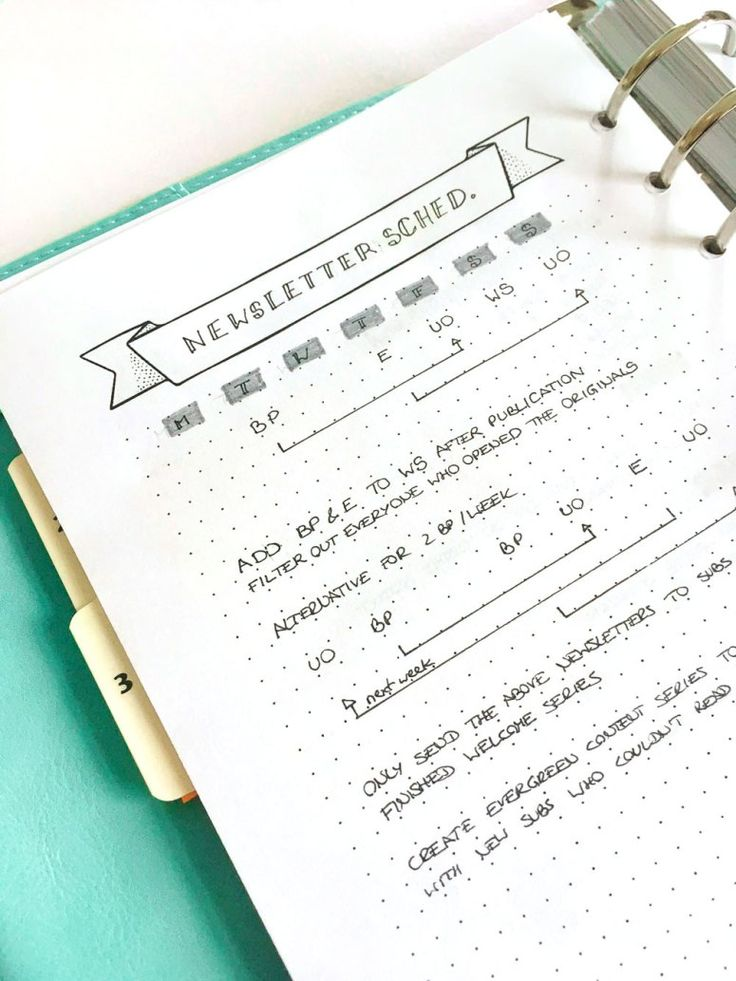 16 best Bulletjournal A6 images on Pinterest | Organisers, Bullet ...