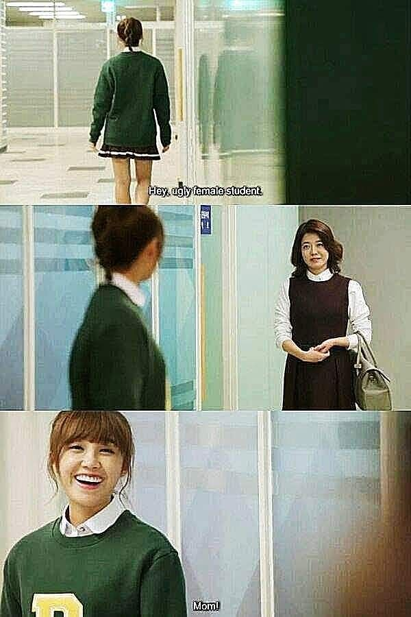 Balchikhage Gogo, a.k.a. Sassy, Go Go, a.k.a. Cheer Up!, is a South Korean TV series, season 1, episode 6, aired 20 October 2015. T to B: Kang Yeon-doo is played by Jung Eun-ji and her mother Park Sun-young is played by Kim Yeo-jin.
