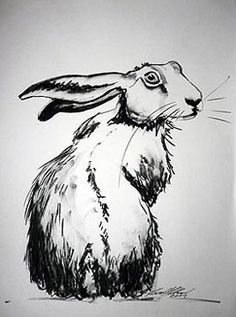 Image result for hare stencil