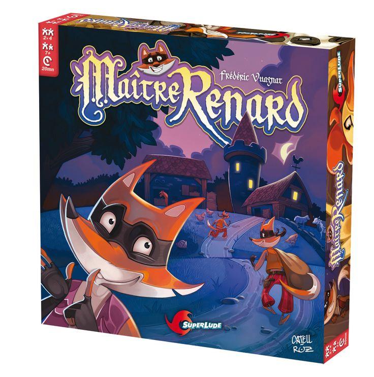 Maître Renard: un jeu de société fun sensibilisant au handicap !