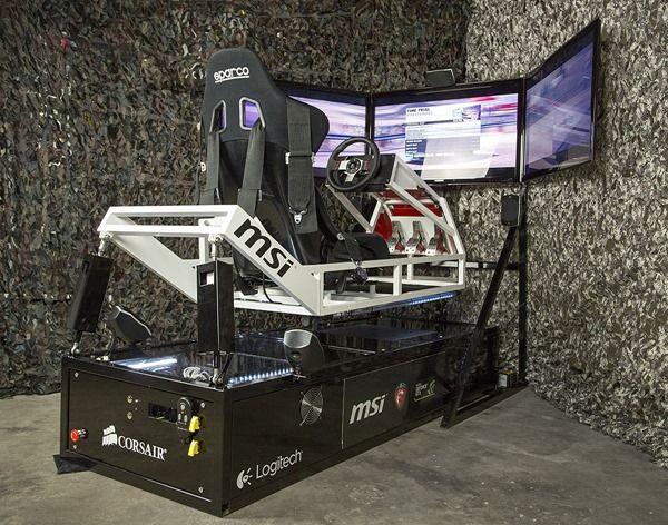 Project Ebtr Full 1200 Racing Simulator Video Game