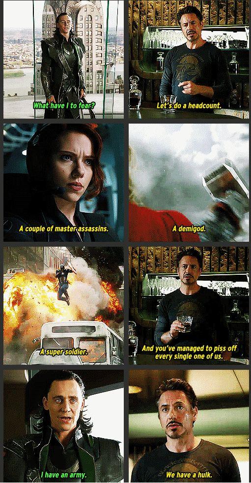 Avengers & Loki