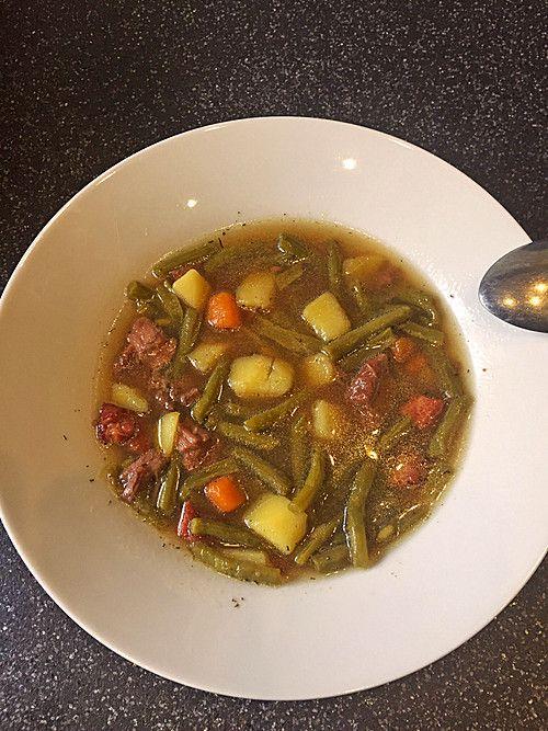 Grüne Bohnen - Suppe (Rezept mit Bild) von Harry36 | Chefkoch.de