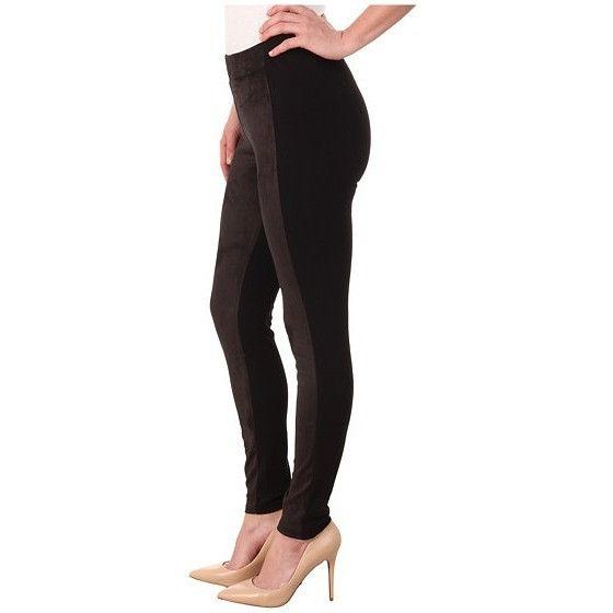 Miraclebody Jeans Harley Ponte & Suede Leggings