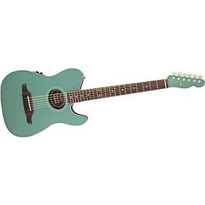 Fender-Telecoustic-Plus-Acoustic-Electric-Guitar-Sherwood-Green