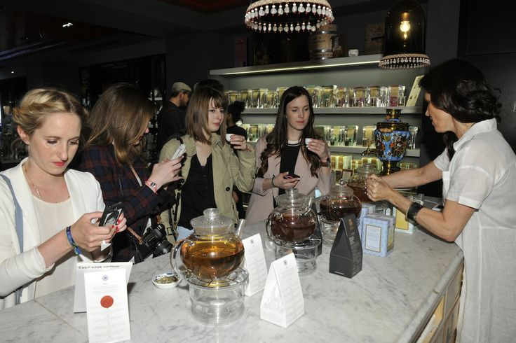 #RegentTweet bloggers experience a unique tea tasting experience at The East India Company. #RegentStreet