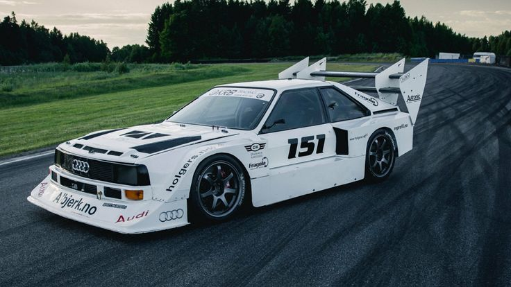 Audi Quattro time attack rally car