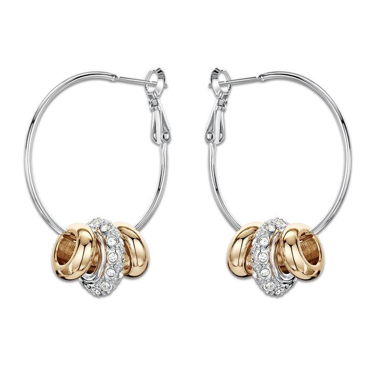 Lucky Charms Hoop Earrings <span class='money'>$15</span>