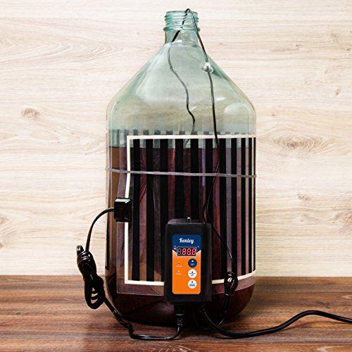 Kenley Fermentation Carboy Heater With Thermostat Kombu Https Www Amazon Com Dp B071rxycmk Ref Cm Sw R Pi Awdb T Home Brewing Beer Brewing Kits Kit Home